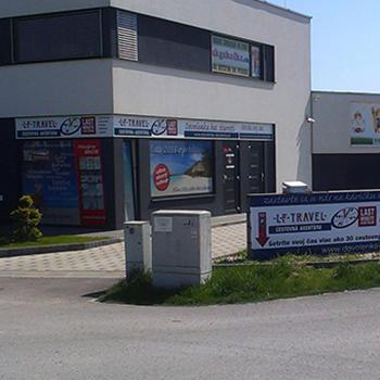 Celkový branding cestovnej kancelárie.